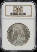 1885-O $1 Morgan Silver Dollar (NGC MS64) at PristineAuction.com