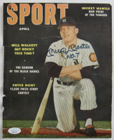 """Mickey Mantle Signed 1953 """"Sport"""" Magazine Inscribed """"No. 7"""" (JSA LOA) at PristineAuction.com"""