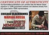 Marian Hossa Signed Jersey (Hossa COA) at PristineAuction.com