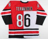 Teuvo Teravainen Signed Jersey (Teravainen COA) at PristineAuction.com