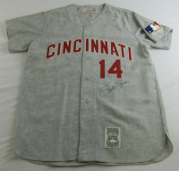 Pete Rose Signed Reds Jersey (JSA COA) at PristineAuction.com