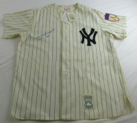 "Phil Rizzuto Signed Yankees Jersey Inscribed ""1950 A.L. M.V.P."" (JSA COA) at PristineAuction.com"