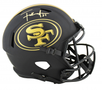 Frank Gore Signed 49ers Eclipse Alternate Full-Size Speed Helmet (Beckett COA) at PristineAuction.com