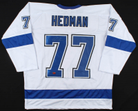 Victor Hedman Signed Jersey (Your Sports Memorabilia Store COA) at PristineAuction.com