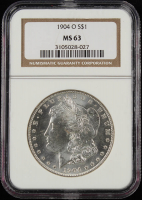 1904-O $1 Morgan Silver Dollar (NGC MS63) at PristineAuction.com