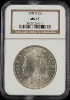 1898-O $1 Morgan Silver Dollar (NGC MS63) at PristineAuction.com