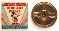 "1950's Vintage Walt Disney's Mickey Mouse & Silly Symphony Cartoons #1515-A ""Mickey's Sky Battle"" 8mm Film Reel With Original Box at PristineAuction.com"