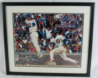 Sammy Sosa Signed Cubs 21x26 Custom Framed Photo Display (JSA COA) at PristineAuction.com