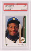 Ken Griffey Jr. 1989 Upper Deck #1 RC (PSA 7.5) at PristineAuction.com