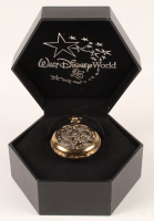 Walt Disney World 25th Anniversary Pocket Watch with Case at PristineAuction.com