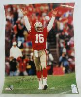 Joe Montana Signed 49ers 16x20 Photo (JSA COA) at PristineAuction.com