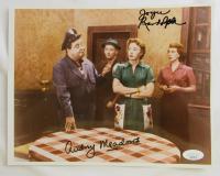 "Audrey Meadows & Joyce Randolph Signed ""The Honeymooners"" 8x10 Photo (JSA COA) at PristineAuction.com"