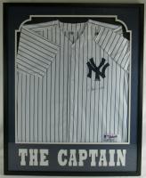 Derek Jeter Signed Yankees 33x42 Custom Framed Jersey Display (Steiner COA & MLB Hologram) at PristineAuction.com