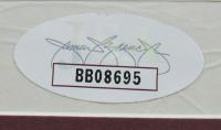 Muhammad Ali & Joe Frazier Signed 20x28 Custom Framed Print Display (JSA LOA) at PristineAuction.com
