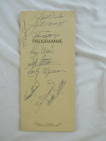 MLB Hall of Famers & Stars Program Signed by (8) with Joe DiMaggio, Roger Maris, Harmon Killebrew, Johnny Mize, Stan Musial, Early Wynn (JSA LOA) at PristineAuction.com
