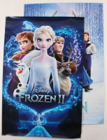 "Lot of (2) ""Frozen"" 24x36 Movie Posters with I & II at PristineAuction.com"