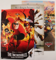 """Set of (3) Pixar 24x36 Movie Posters With """"The Incredibles"""", """"Ratatouille"""", & """"Cars"""" at PristineAuction.com"""