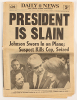 "Original November 23, 1963 ""President Is Slain"" Daily News Newspaper at PristineAuction.com"