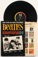 """Vee-Jay Records """"Songs, Pictures And Stories Of The Fabulous Beatles"""" Vinyl Record Album at PristineAuction.com"""