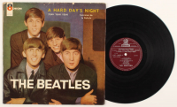 """The Beatles """"A Hard Day's Night"""" Rare Chile Version Vinyl Record Album at PristineAuction.com"""