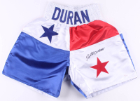 Roberto Duran Signed Boxing Trunks (JSA COA) at PristineAuction.com