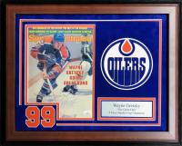 Wayne Gretzky Signed 17x21 Custom Framed Sports Illustrated Magazine (JSA COA) at PristineAuction.com