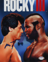 "Mr. T Signed ""Rocky III"" 8x10 Photo (PSA COA) at PristineAuction.com"