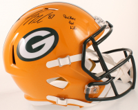 """Jordy Nelson Signed Packers Full-Size Speed Helmet Inscribed """"Packer For Life"""" (JSA COA) at PristineAuction.com"""