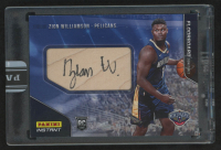 Zion Williamson 2019-20 Panini Floorboard Signatures #FS1 #5/5 at PristineAuction.com