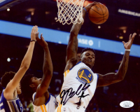 Jordan Bell Signed Warriors 8x10 Photo (JSA COA) at PristineAuction.com