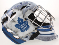Ed Belfour Signed Maple Leafs Full-Size Goalie Mask (Schwartz Sports COA) at PristineAuction.com