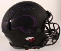 Adam Thielen Signed Vikings Full-Size Authentic On-Field Eclipse Alternate Speed Helmet (Beckett COA) at PristineAuction.com