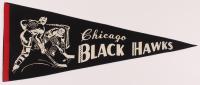 Vintage 1950s Blackhawks Pennant at PristineAuction.com
