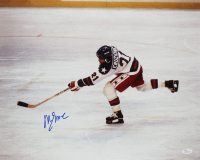 """Mike Eruzione Signed Team USA """"Miracle on Ice"""" 16x20 Photo (JSA COA) at PristineAuction.com"""