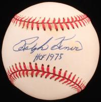 """Ralph Kiner Signed ONL Baseball Inscribed """"HOF 1975"""" (JSA COA) at PristineAuction.com"""