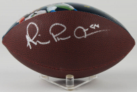 Michael Irvin Signed Cowboys 100th Anniversary Art Football (Beckett Hologram) at PristineAuction.com