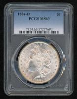 1884-O Morgan Silver Dollar (PCGS MS63) at PristineAuction.com