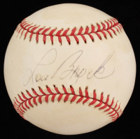 Lou Brock Signed ONL Baseball (JSA COA) at PristineAuction.com
