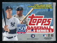 2019 Topps Series 1 Baseball Blaster Box with (7) Packs at PristineAuction.com