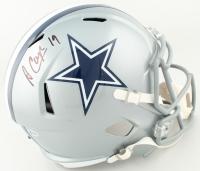 Amari Cooper Signed Cowboys Full-Size Speed Helmet (Beckett COA) at PristineAuction.com