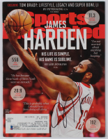 James Harden Signed 2017 Sports Illustrated Magazine (Beckett COA) at PristineAuction.com