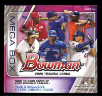 2020 Bowman Baseball Mega Box with (6) Packs at PristineAuction.com