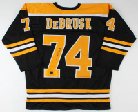 Jake DeBrusk Signed Jersey (DeBrusk Hologram) at PristineAuction.com