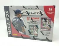 2020 Panini Prizm Baseball Mega Box with 10 Packs at PristineAuction.com