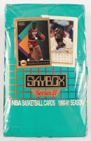 1990-91 Skybox Series 2 Basketball Box of (540) Cards at PristineAuction.com