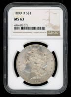 1899-O Morgan Silver Dollar (NGC MS63) at PristineAuction.com