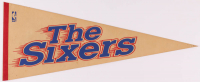 Vintage 76ers Pennant at PristineAuction.com