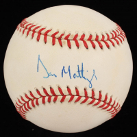 Don Mattingly Signed OAL Baseball (JSA COA & Jackson Hologram) at PristineAuction.com