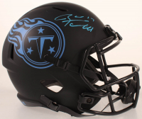 Ryan Tannehill Signed Titans Full-Size Eclipse Alternate Speed Helmet (Beckett COA) at PristineAuction.com