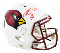 "Kyler Murray Signed Cardinals Matte White Full-Size Authentic On-Field Speed Helmet Inscribed ""19 ROY"" (Beckett COA) at PristineAuction.com"